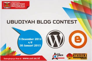 Ubudiyah Blog Contest