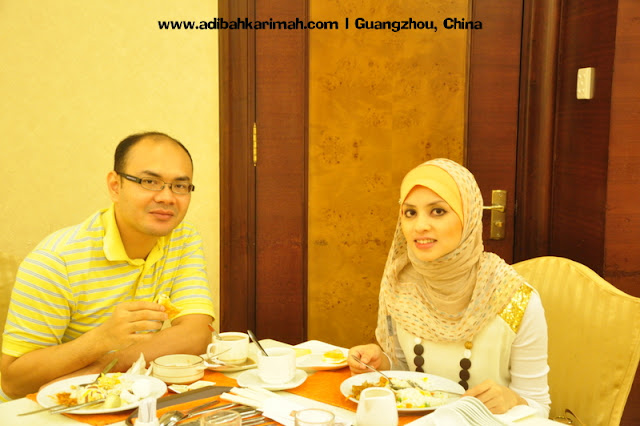 Sneak Preview free holiday to Guangzhou for premium beuatiful top agent during breakfast at hotel