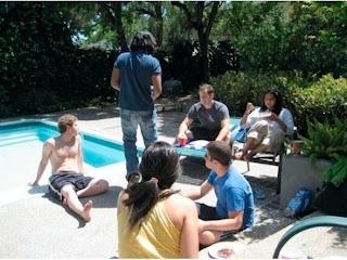 mark zuckerberg pool