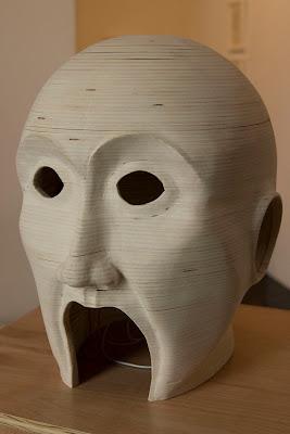 Escultura de cabeza
