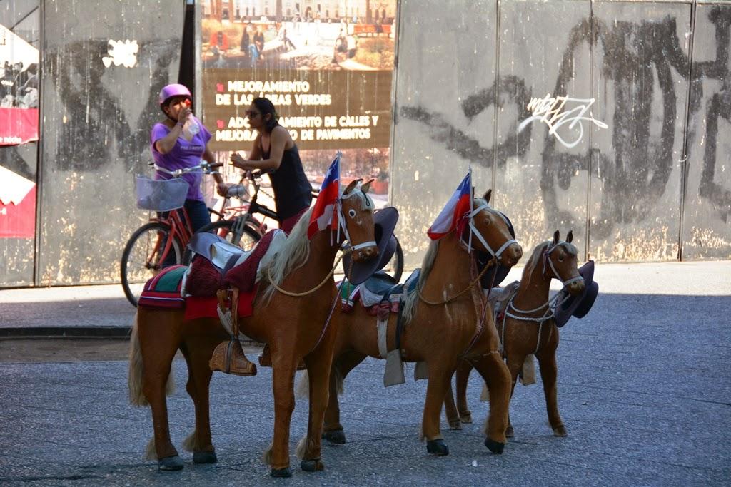 Santiago de Chile pony