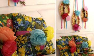 Almofadas de chita para festa junina