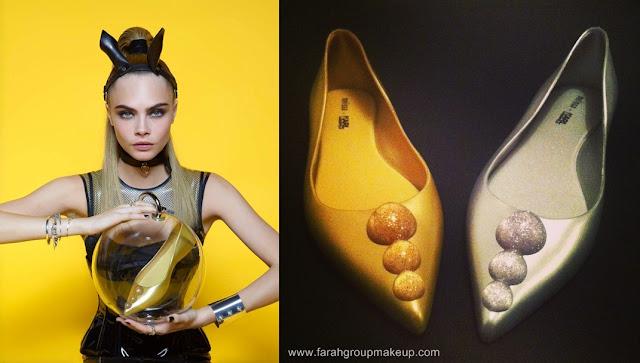 Melisa + Karl Lagerfeld