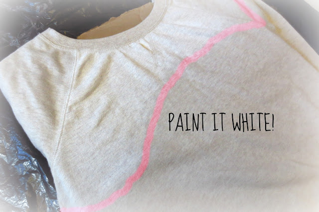 DIY ASOS Fantasia Sweatshirt