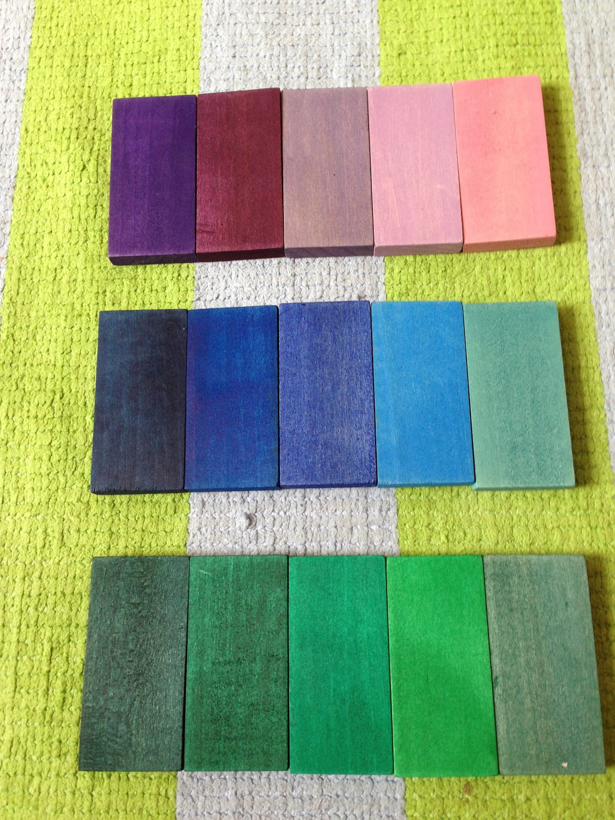 Colour shades activities - Montessori Inspired Colour Grading Activity