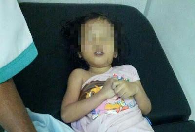 kanak kanak mati sebab lemas dalam kereta