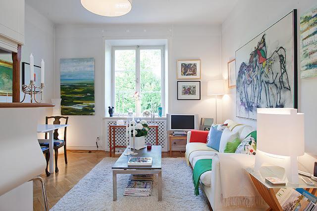 decoração de apartamento pequeno, pequenos apartamentos