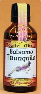 ACEITE RITUAL BÁLSAMO TRANQUILO