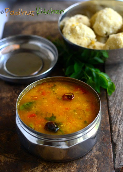 Pasi Paruppu Sambar-Moong Dal Sambar-Tiffin Sambar-Side dish for