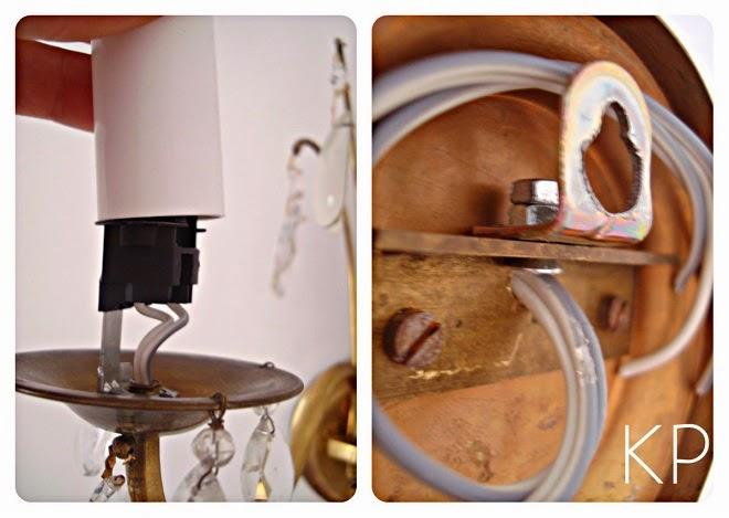 Lámparas y apliques antiguos restaurados en valencia