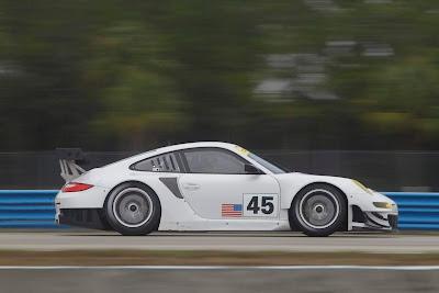 2012 Porsche 911 GT3 RSR Side View