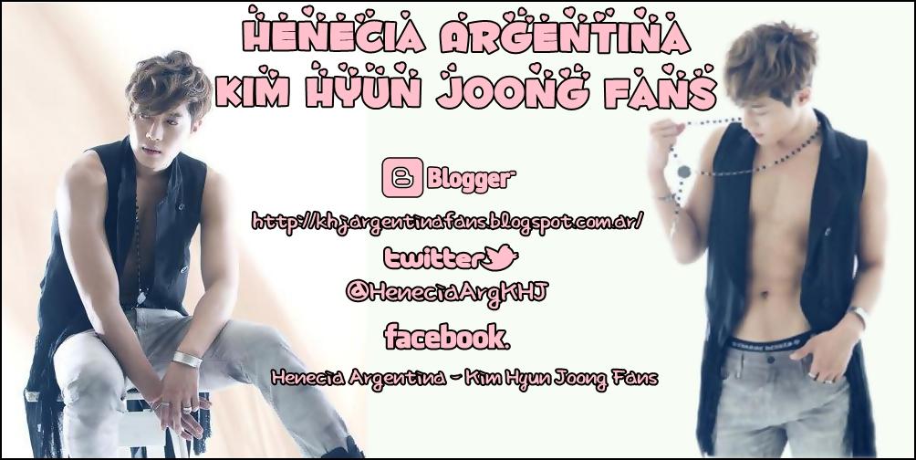 Henecia Argentina Kim Hyun Joong Fans