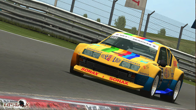 Renault Alpine mod historic gt and touring cars 1.9 rfactor