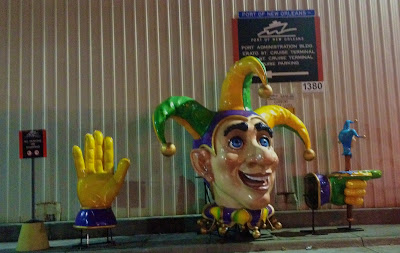 Blaine Kern Mardi Gras Float decoration