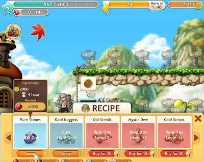 MapleStory Adventures - Unlock Recipes