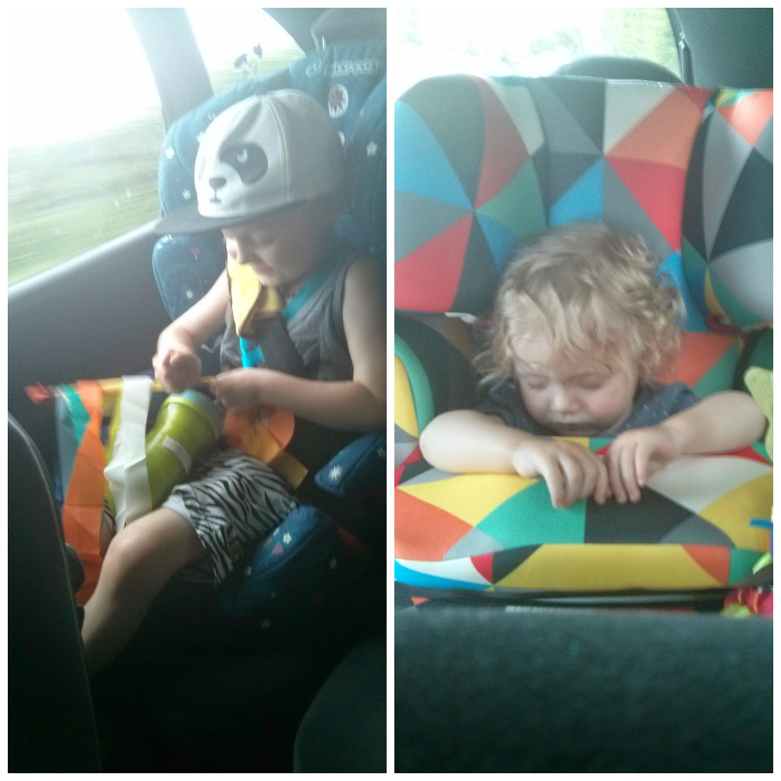 Two Tired Boys after the Shepton Mallet Festival