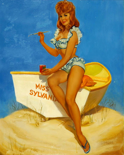 Mayo Olmstead pin up