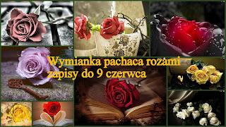 Wymianka pachnąca różami - wysłana otrzymana
