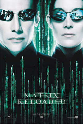Watch The Matrix Reloaded 2003 BRRip Hollywood Movie Online | The Matrix Reloaded 2003 Hollywood Movie Poster