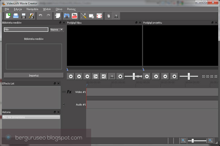 Aplikasi Edit Video VideoLAN Movie Creator