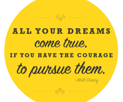 All your Dreams come trues Walt Disney Quote