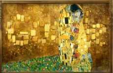 Gustav Klimt doodle de Google 14 de julio de 2012