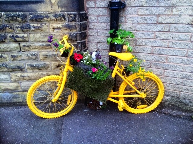 yellow bike for Tour de France leeds