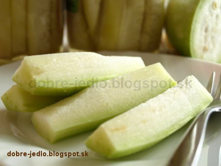 Zaváraná indická uhorka - recepty