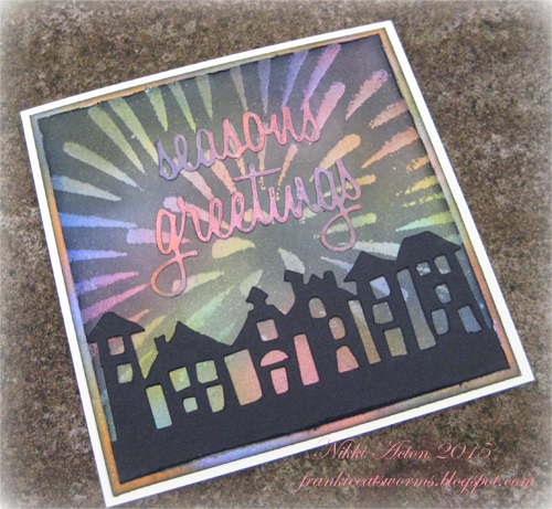 Firework for A Vintage Journey Distress Inks