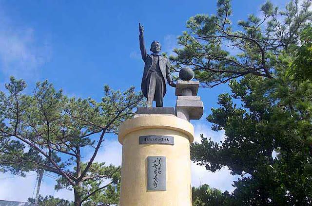 present day statue