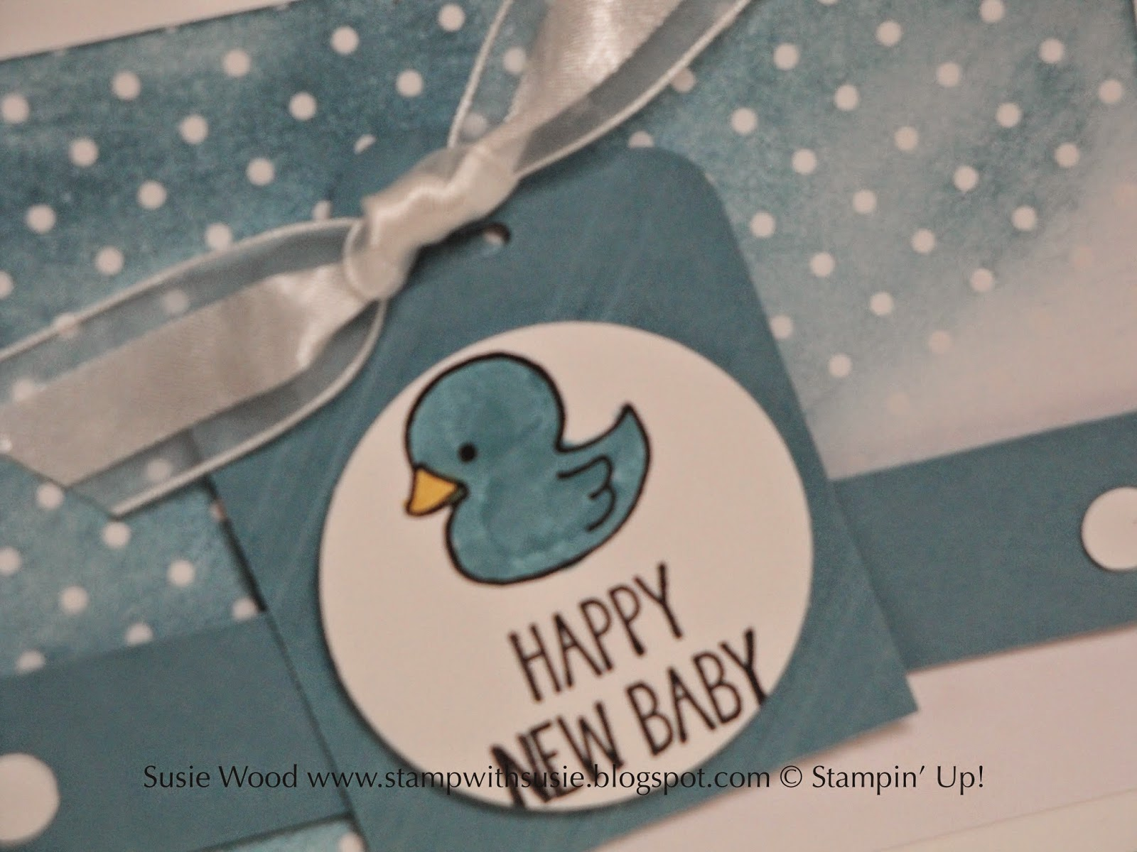 Stamp with Susie: Happy New Baby= BOY!