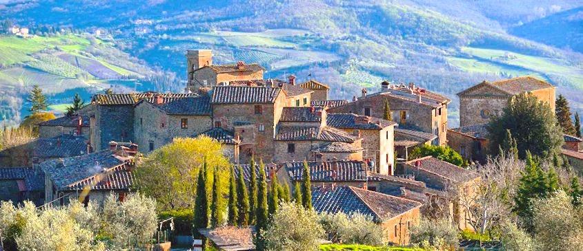 Volpaia in Chianti, Tuscany