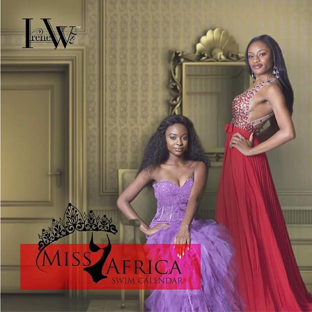 Miss Tanzania USA 2015-2016 Aeesha Kamara ashinda kuwa Cover Girl kwenye kalenda ya Miss Africa USA 2015-2016