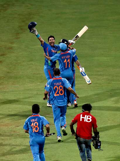 cricket world cup 2011 final moments. World Cup 2011 Final moment