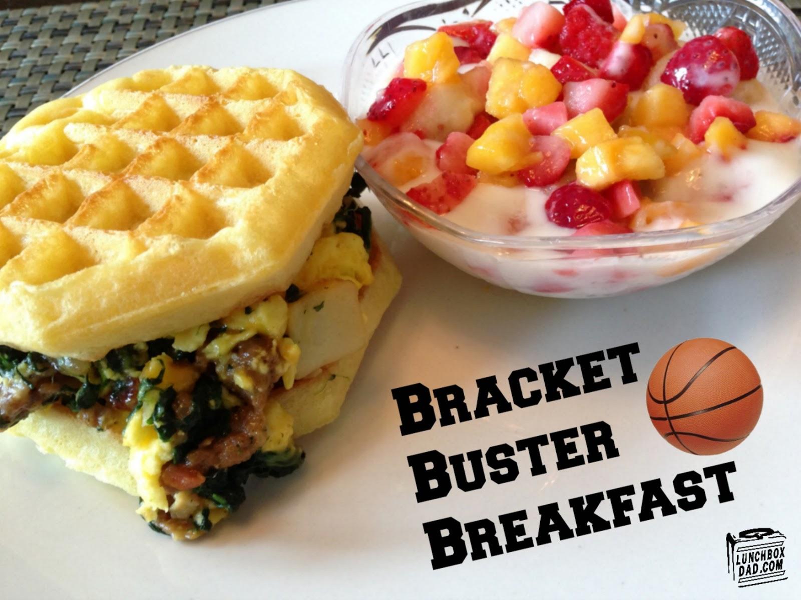 Bracket Buster Breakfast #FrozenChefMadness