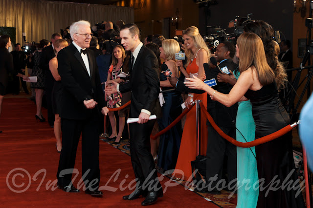 Celebrity Fight Night 2013 Red Carpet Steve Martin