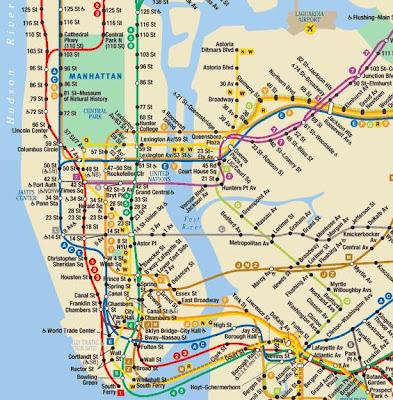 New York Metro Map 4