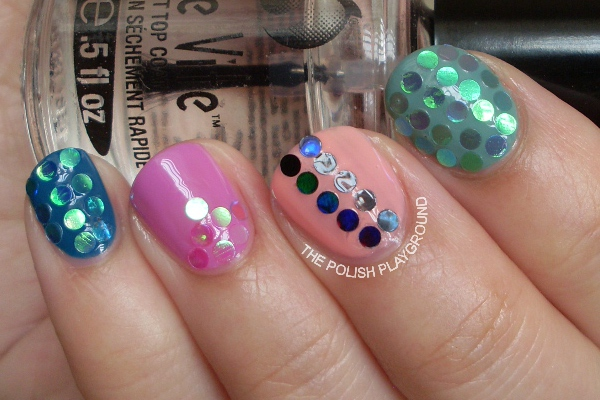 Born Pretty Store Round Circle Glitters Review