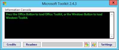 Microsoft Toolkit 2.4.3 - Official KMS Solution for Microsoft Products