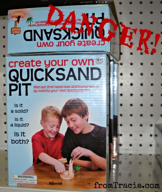 Create Your Own Quicksand Pit Box