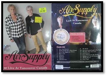 DVD Live At Vancouver, Canada