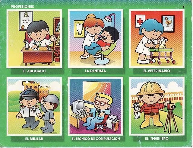 Dibujos Infantiles De Las Profesiones