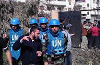 U.N. observers in Syria