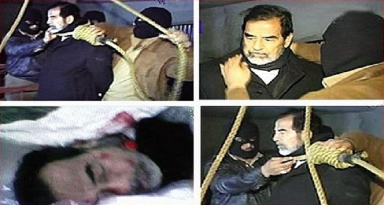 جندي أمركي يكشف ما حدث أثناء إعدام صدام حسين