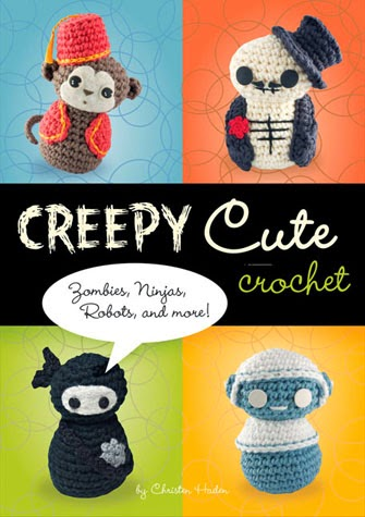 http://www.quirkbooks.com/book/creepy-cute-crochet