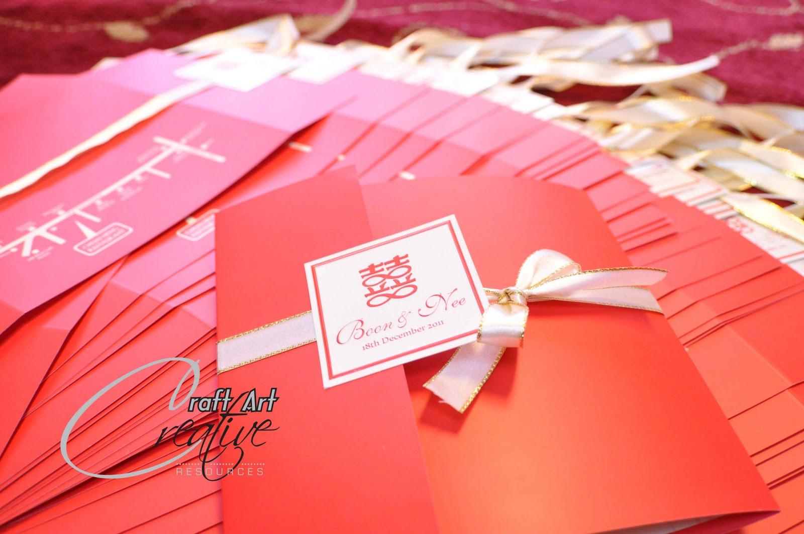All About The Wedding: Wedding Card - Chinese