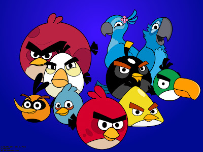wallpaper angry bird