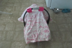 Car Seat Canopy/Nursing Cover Combo