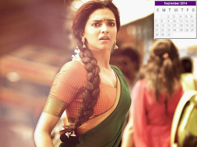 Deepika Padukone Calendar 2014