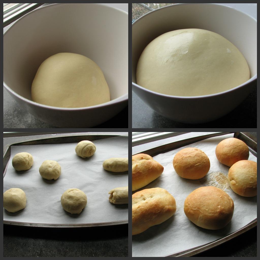 dough production burger buns